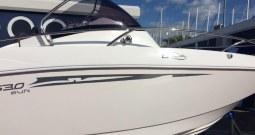 Galia 630 Sundeck bijeli trup+Honda 150 KS